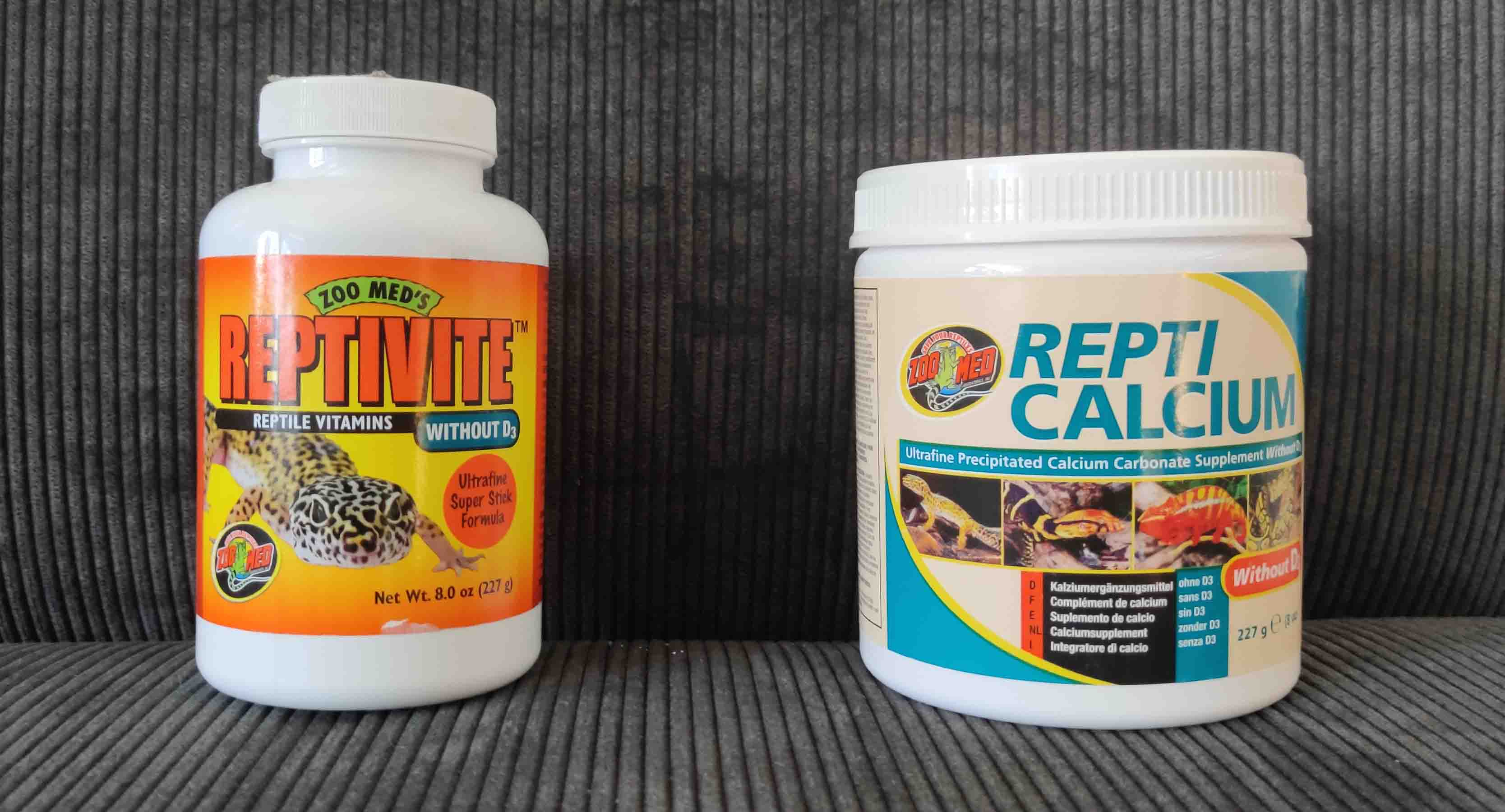 Bearded Dragon supplements vitamins and calcium without d3 from zoomed